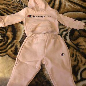 Champion Matching Sets - 2pc infant Champion sweat suit